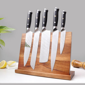 Solid Wood Magnetic Knife Holder