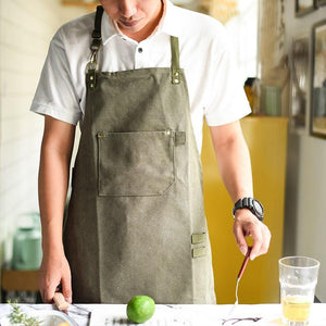 Kitchen Canvas Apron