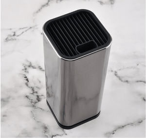 Universal Stainless Steel Knife Block
