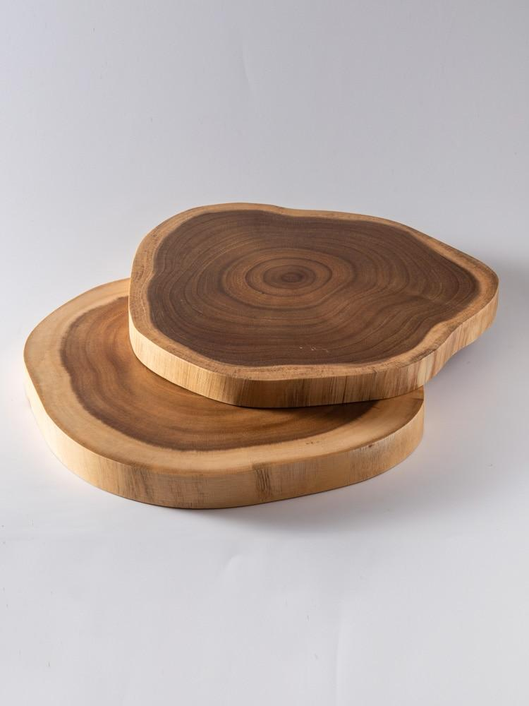 Wooden Stump Shaped Cutting Board