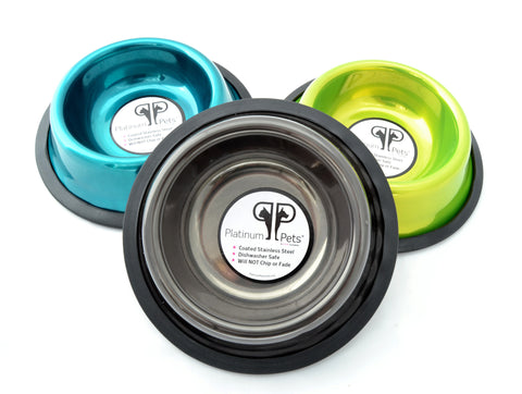 Platinum Pets Stainless Steel Dog Bowls