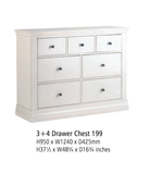 Corndell Annecy - 3 + 4 Drawer Chest - A199