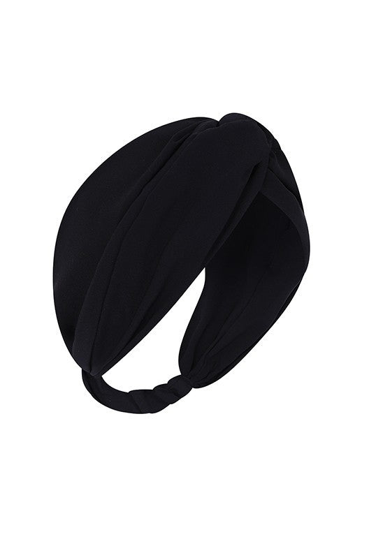 South Beach - Headband Black - SB0008-B-F-A