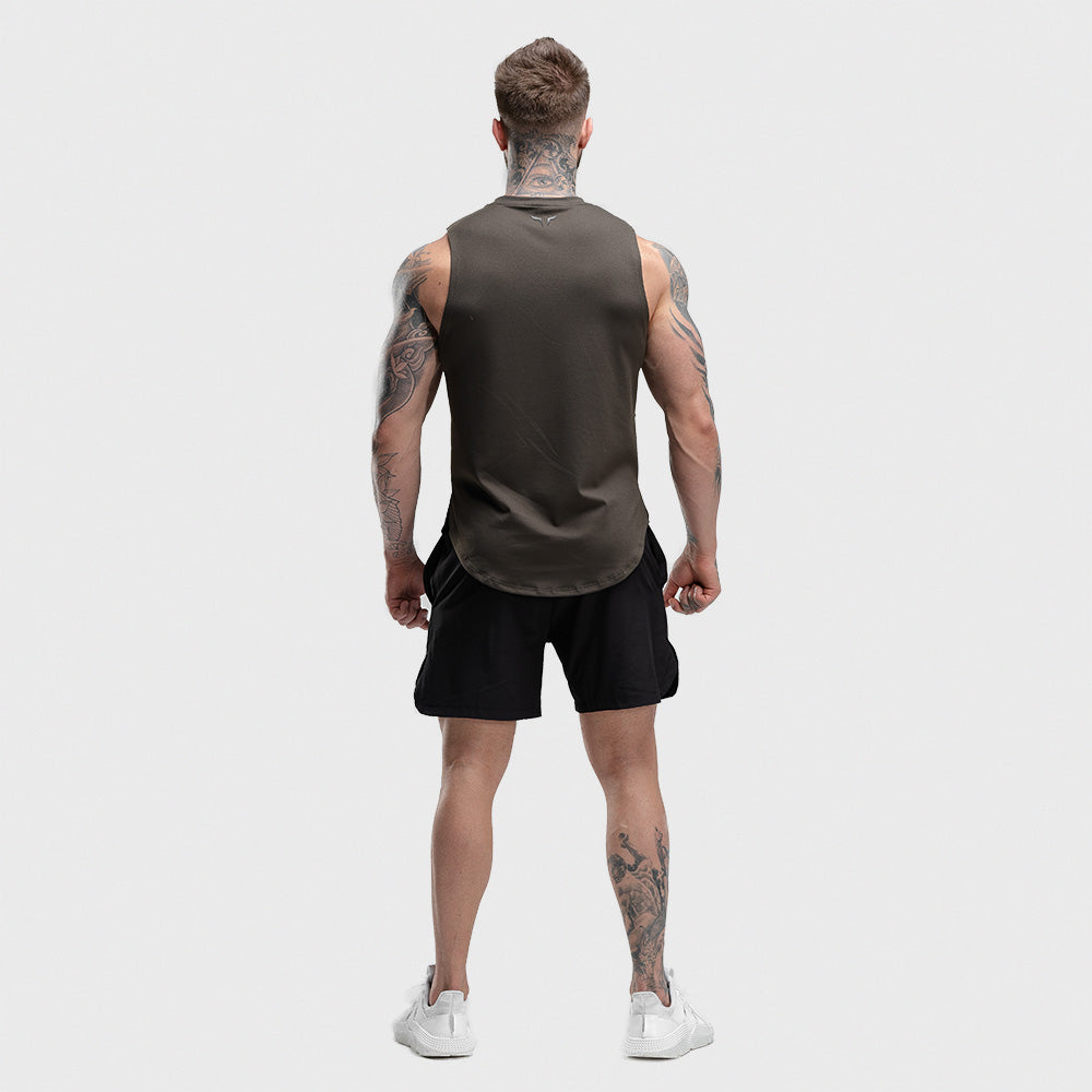 Squat Wolf - Hype Tank Top - Olive - SQ0012-O-M