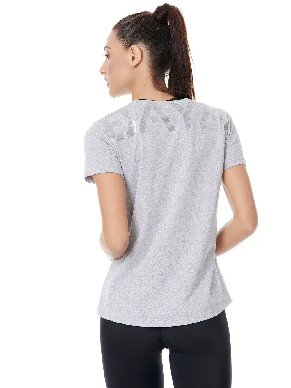 BAYA - Logo Tee - Sporty Grey