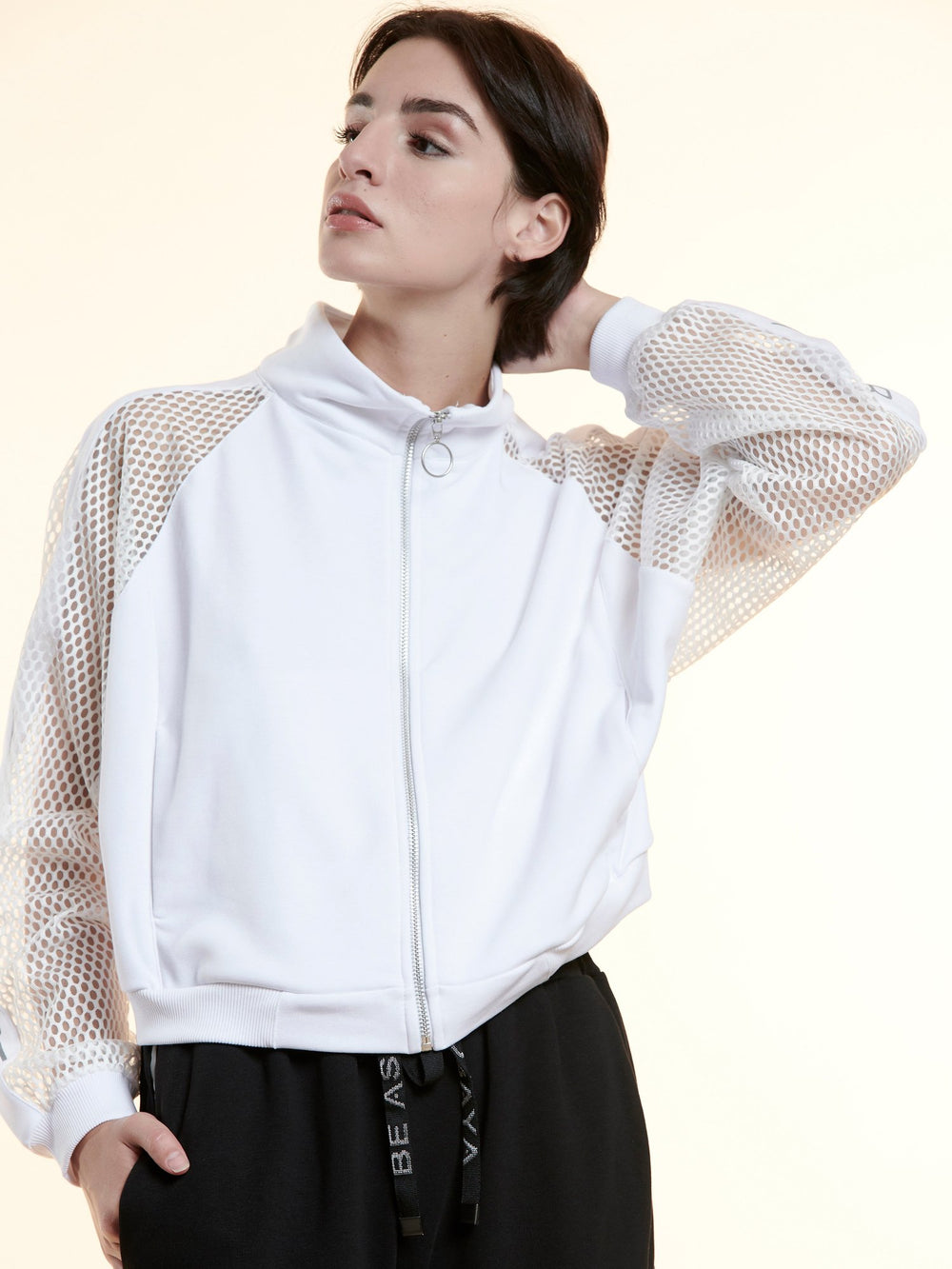 BAYA - Network Jacket - White BY0028-WHT-OS-F
