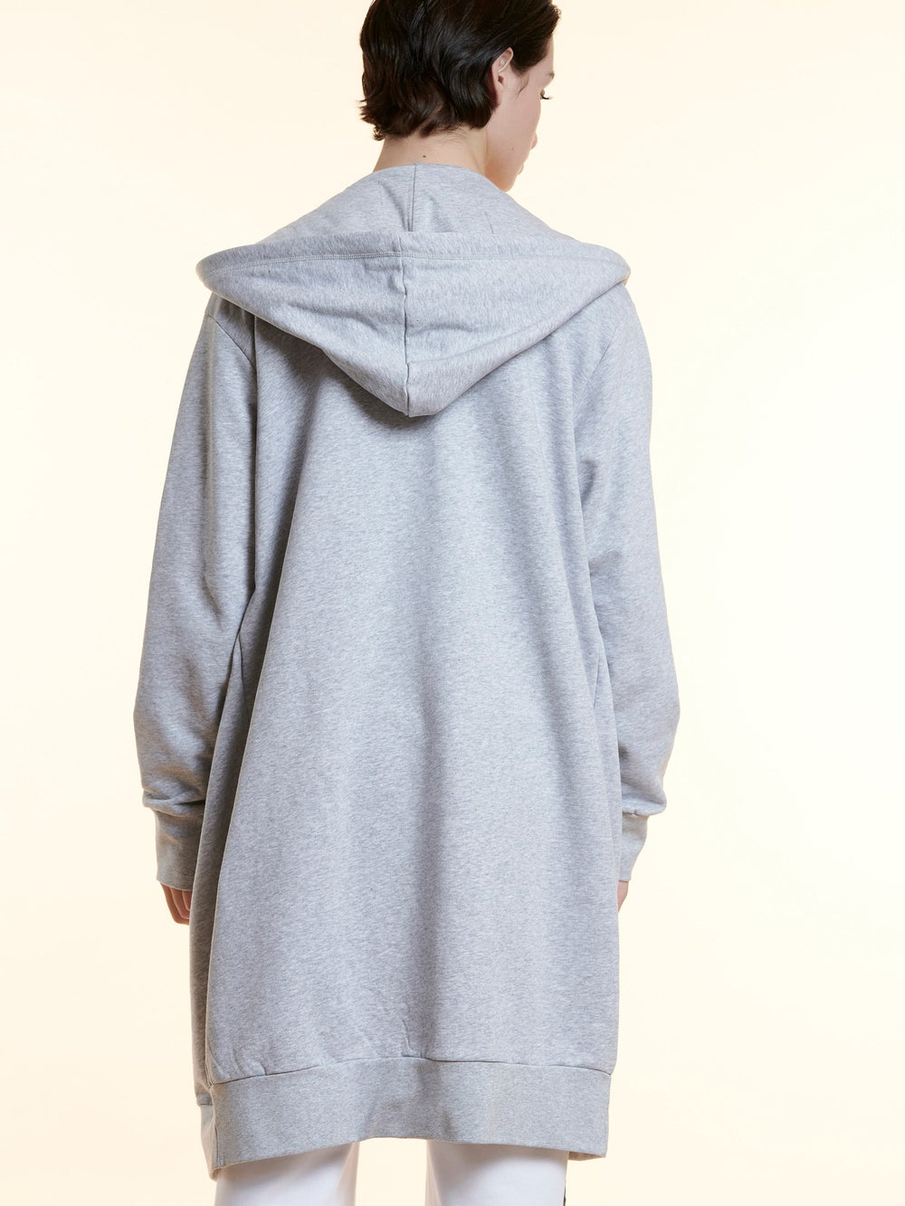BAYA - Long College Hoodie - Grey BY0021-G-OS-F