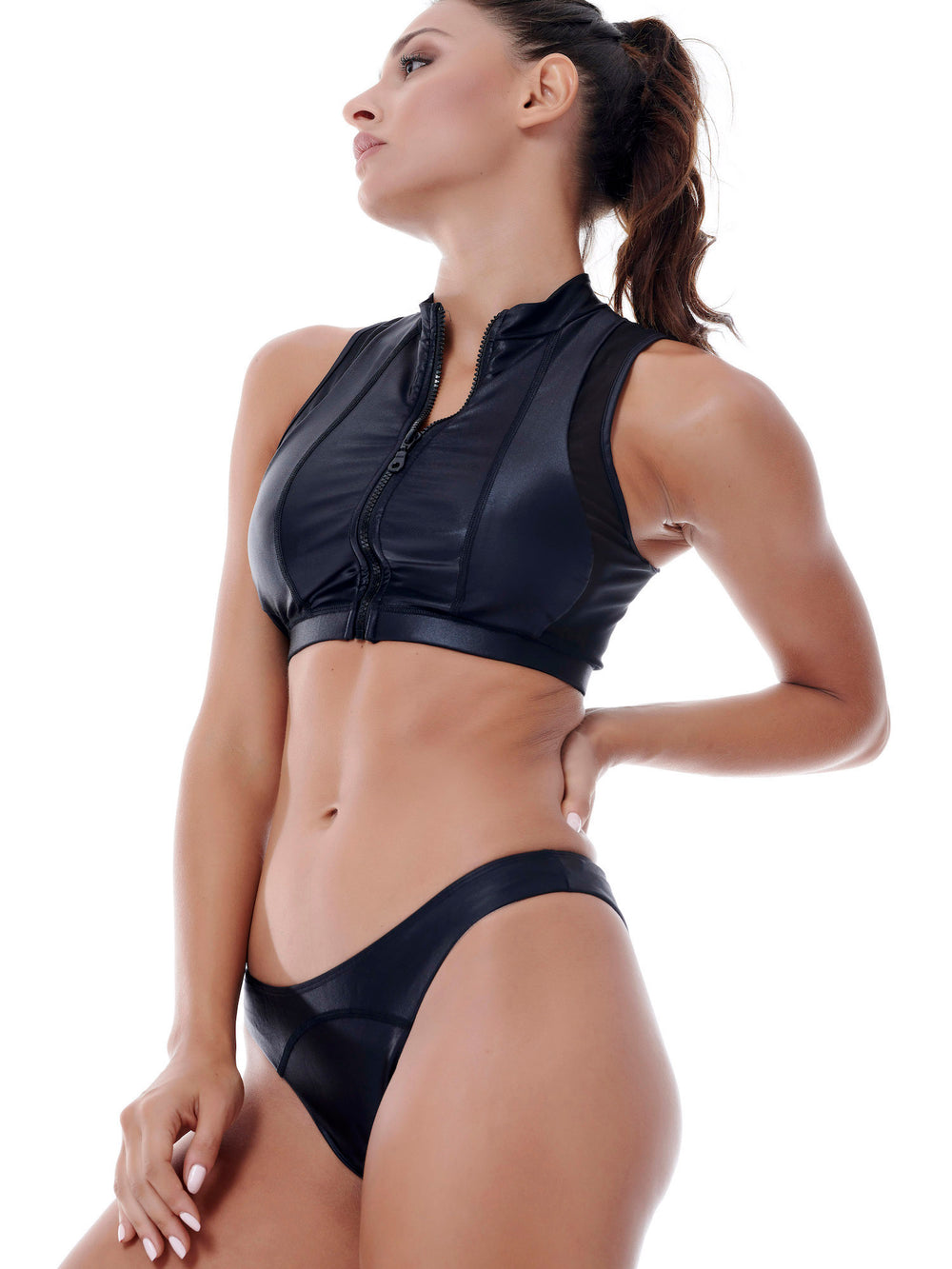 BAYA - Dazzle Knockout Sports Bra - Black