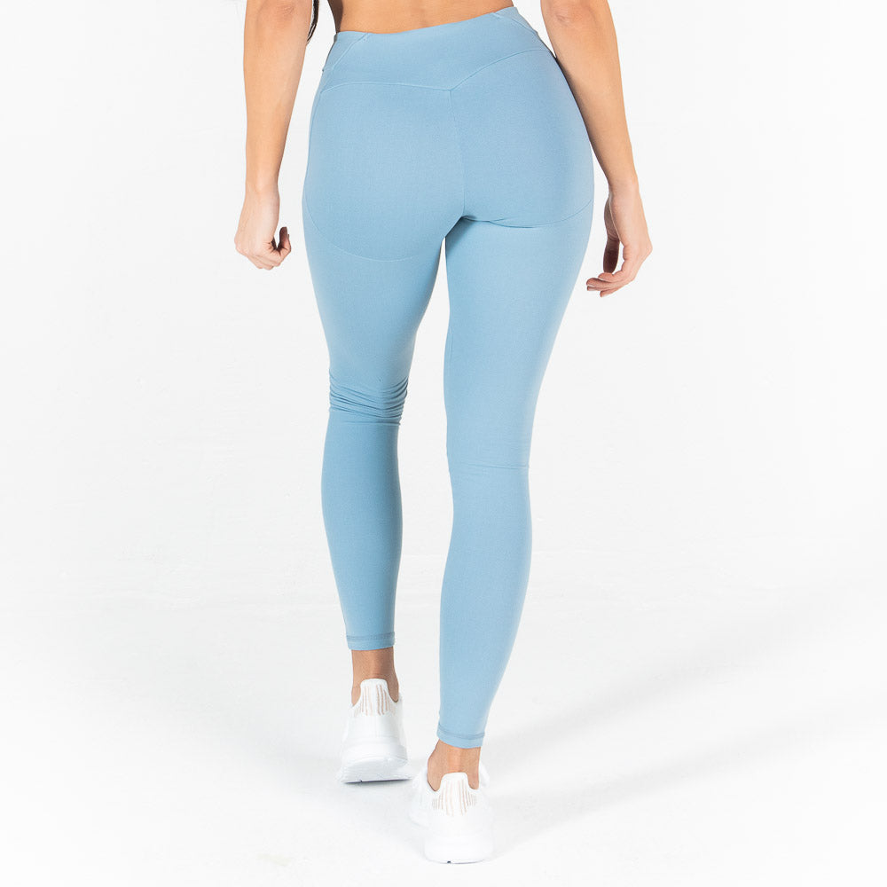 Squat Wolf - Athena Leggings - Pastel Blue - SQ0002-B-F