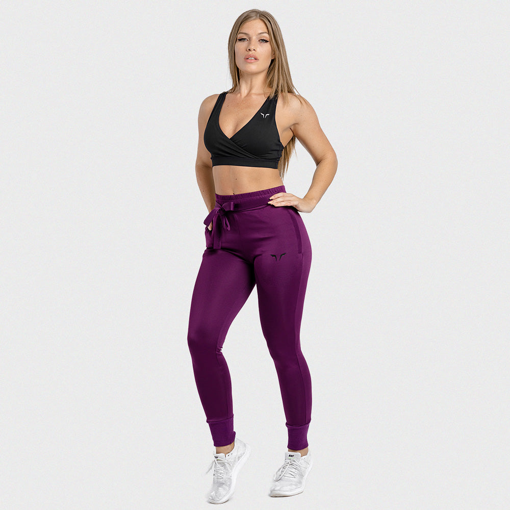Squat Wolf - She-Wolf Do-Knot Joggers - Violet Wine - SW0004-W-F