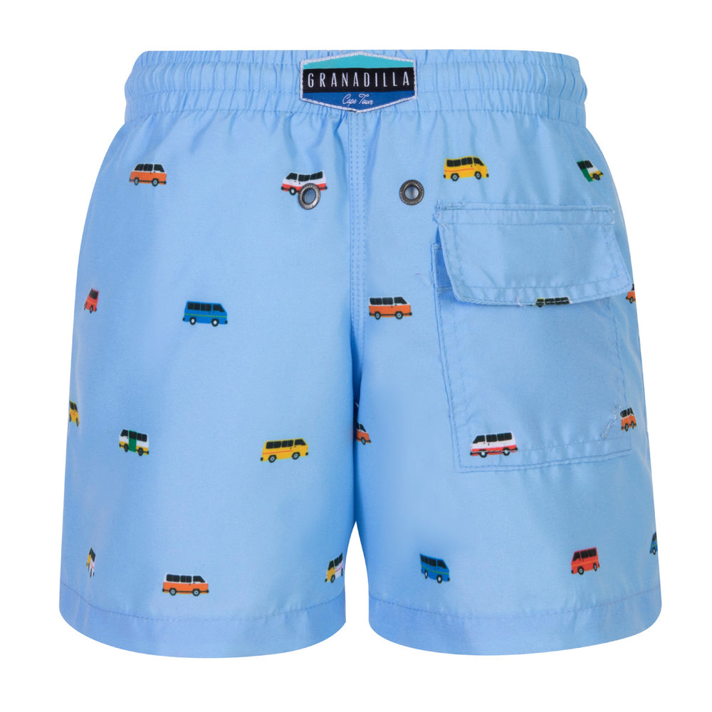Granadilla Swim - Taxi Baby Blue - Kids GR0009-B-K