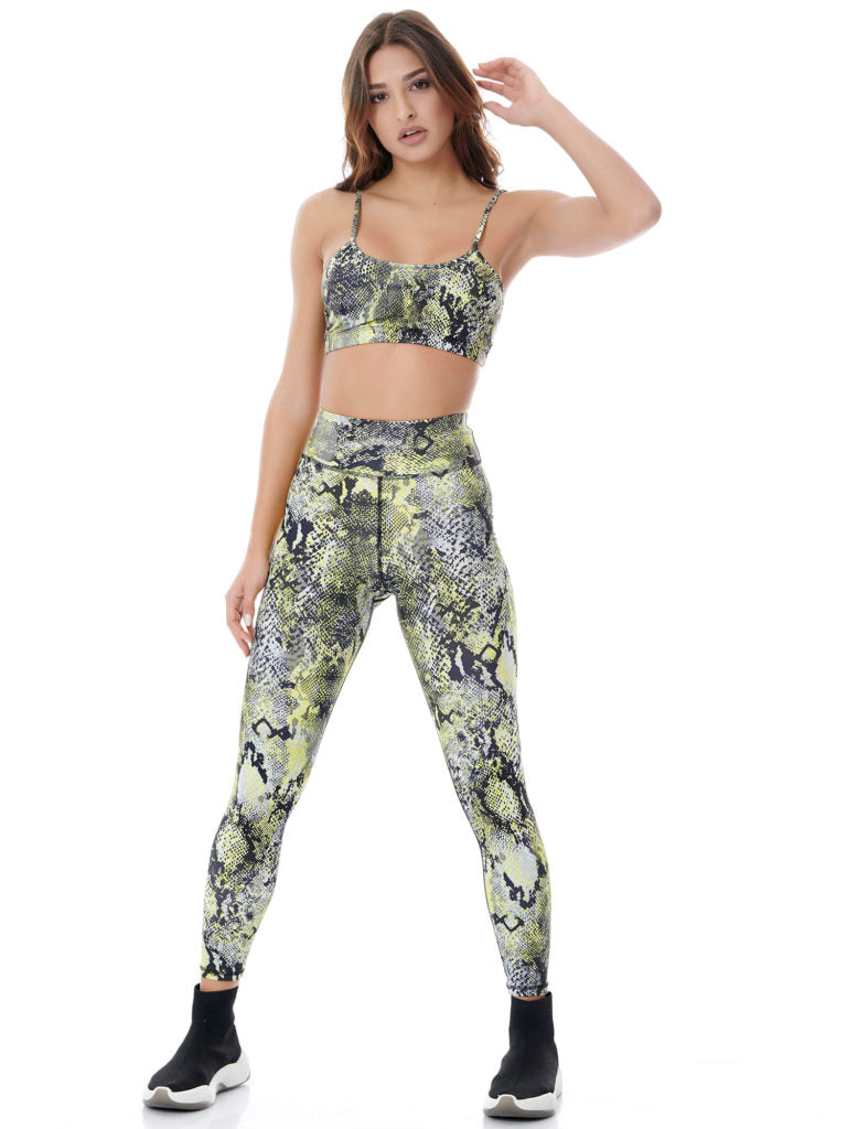 BAYA - Boa Neon Power Tech Set Long - Neon Yellow