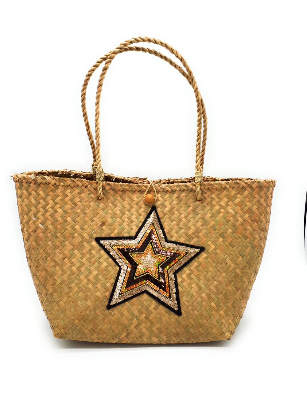Medium star beach bag - BA-S-F-A