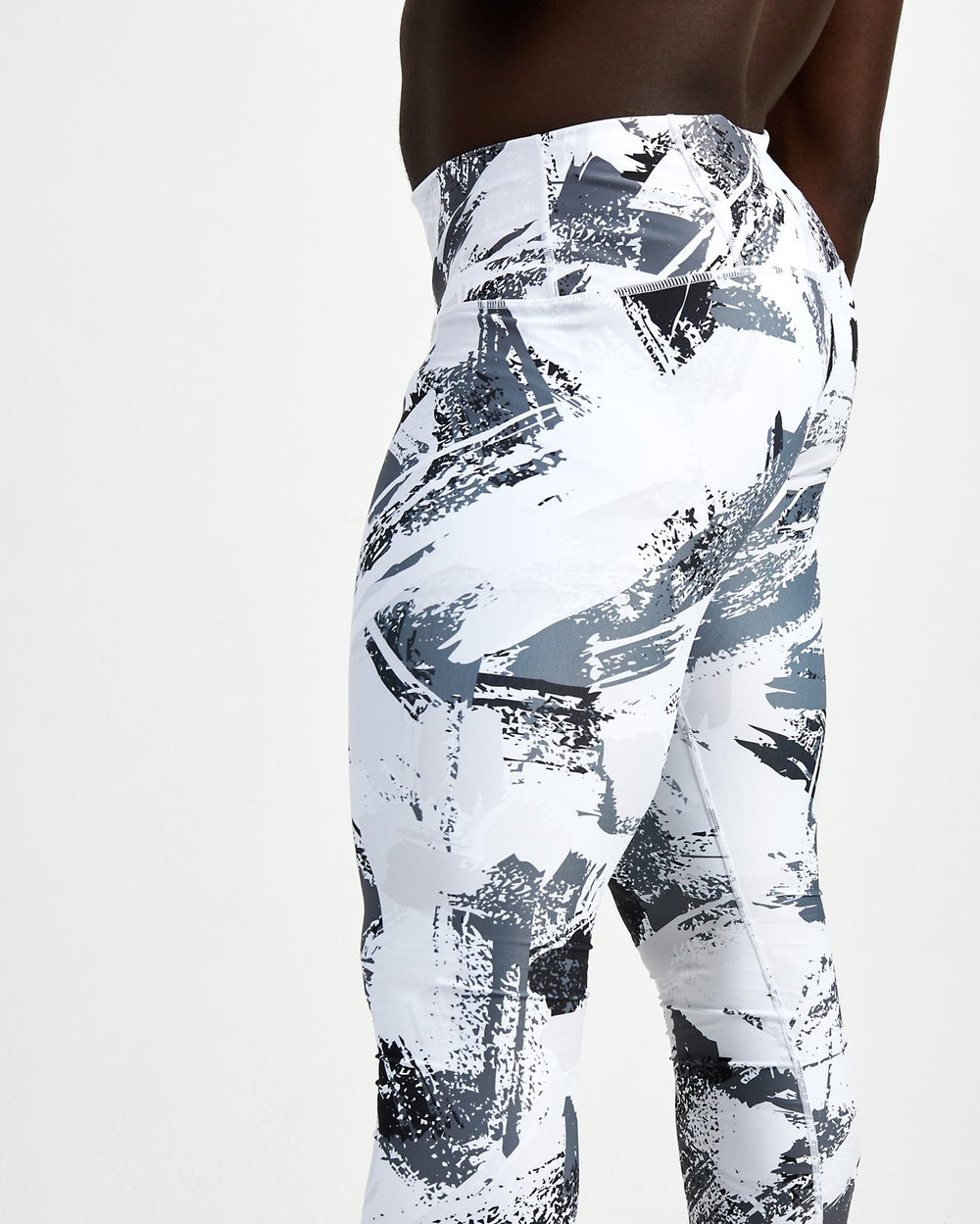 men's on your marks leggings side