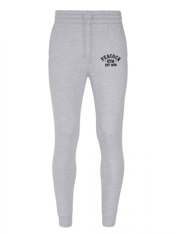 Peacock Gym trackpants grey