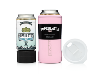 BRÜMATE Hopsulator TríO V2.0 - Blush by: Northwest Snap, Inc. Customized with Your Personalization