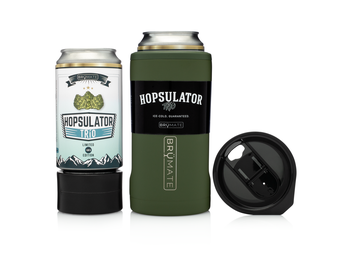 BRÜMATE Hopsulator TríO V2.0 - OD Green by: Northwest Snap, Inc. Customized with Your Personalization