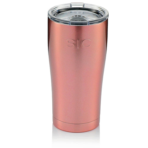 SIC 20oz Tumbler - Rosegold Glitter by: Northwest Snap, Inc. Customized with Your Personalization