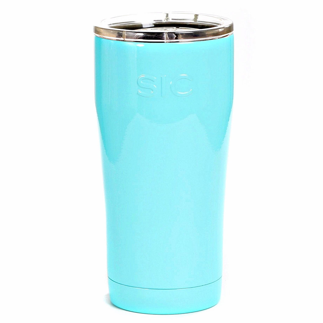 SIC 20oz Tumbler - Seafoam Blue by: Northwest Snap, Inc. Customized with Your Personalization