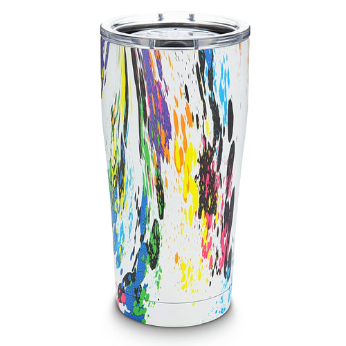 SIC 20oz Tumbler - Splatter Paint by: Northwest Snap, Inc. Customized with Your Personalization