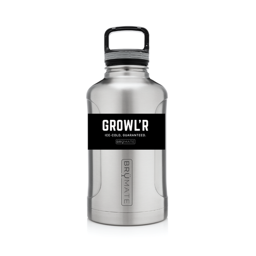 BRÜMATE Growl'r - Stainless by: Northwest Snap, Inc. Customized with Your Personalization