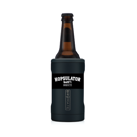 BRÜMATE Hopsulator BOTT'L - Black by: Northwest Snap, Inc. Customized with Your Personalization