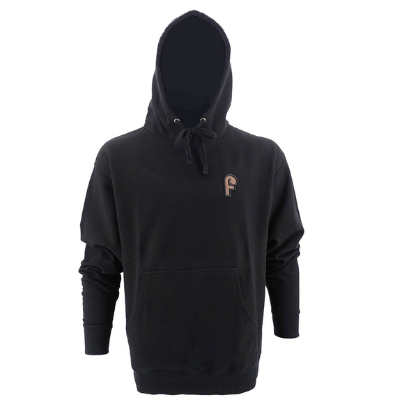 Fini F Embroidery Hoodie Black - Fini Shoes