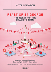 Feast of St George Treasure Map front cover