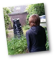 Client meets a dalek at dawn
