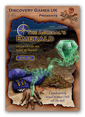 Admirals Emerald treasure hunt in London
