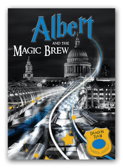 cover of magic brew outdoor clue hunt in london
