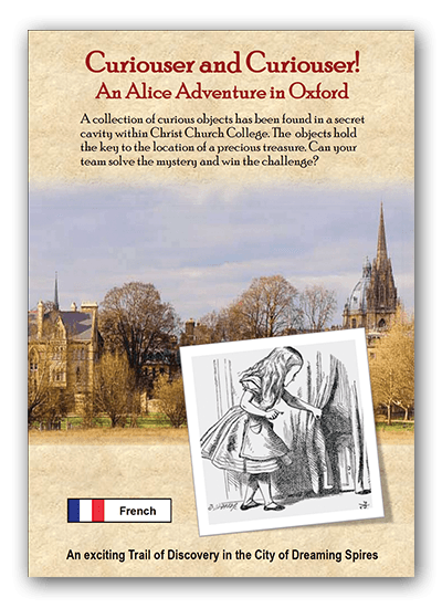 Curiouser and Curiouser! An Alice Adventure in Oxford