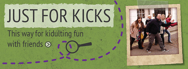 Just for kicks - treasure hunts for any day of the week