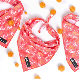 """All you need is love"" bandana"