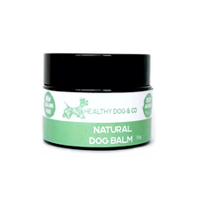 Load image into Gallery viewer, healthy dog and co's natural dog balm for your dogs itchy skin and small scratches