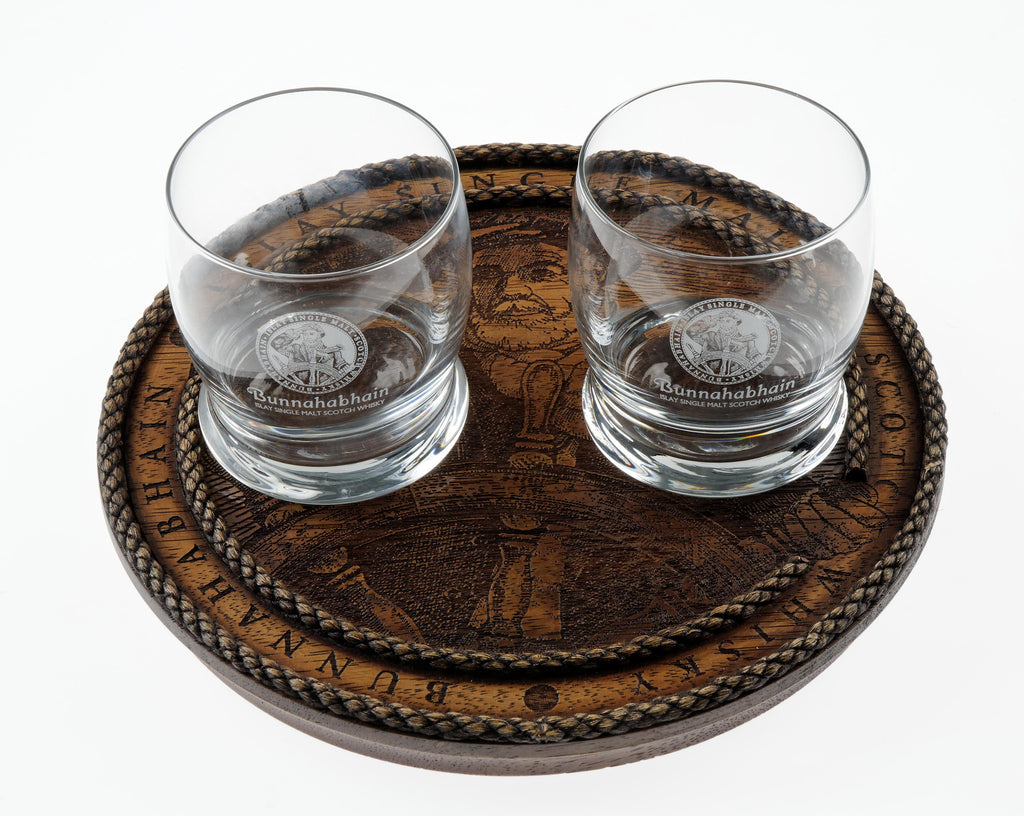Bunnahabhain Wobbly Glass Tray