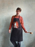 "Soviet Kitchen Cotton Apron ""Wurst Chef Ever"""