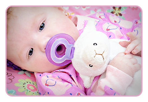 Paci-Plushies Blankies with Soothie Pacifier