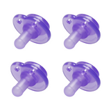NOOKUMS PURPLE PACIFIER 4 PACK