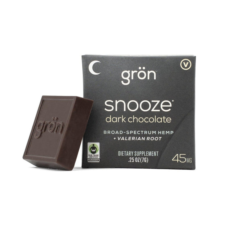 Snooze CBD Dark Chocolate - Stone & Leaf CBD