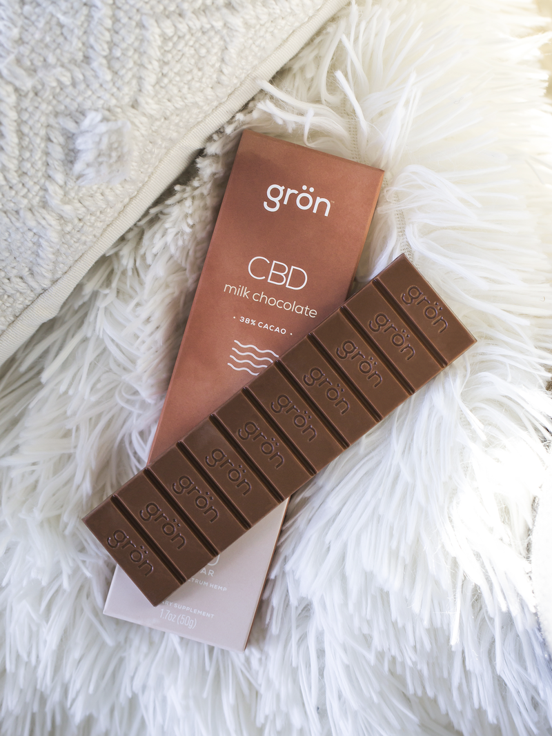 CBD Milk Chocolate - 200mg - Stone & Leaf CBD