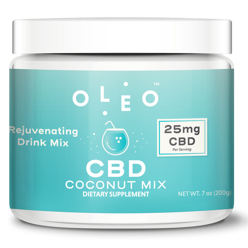 CBD Products - Coconut CBD Mix - Stone & Leaf CBD