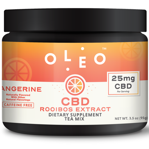 Tangerine Rooibos CBD Tea Mix 250mg - Stone & Leaf CBD