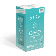 Load image into Gallery viewer, Coconut CBD Drink Mix - 6 Packets CBD Product - Stone & Leaf CBD