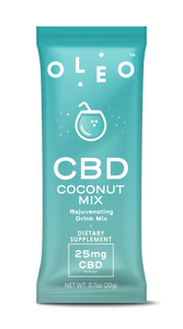 Coconut CBD Drink Mix - 6 Packets CBD Product - Stone & Leaf CBD