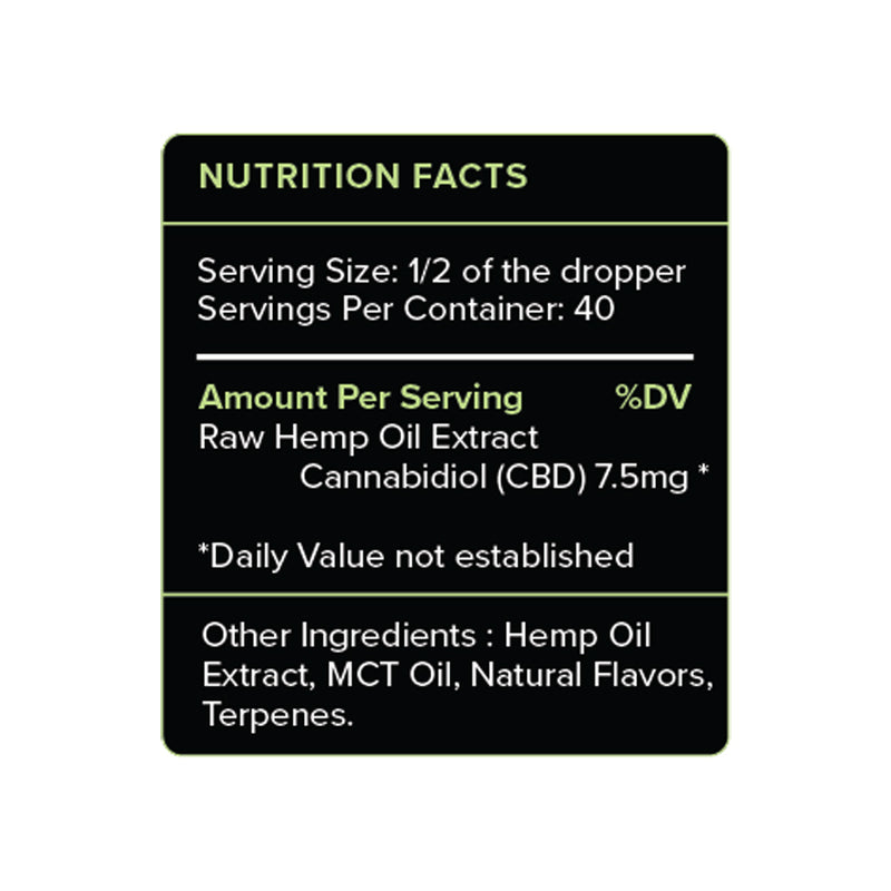 PureKana Mint CBD Oil 300mg - Stone & Leaf CBD