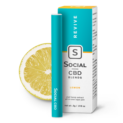 Revive | Lemon Vape Pen CBD Product - Stone & Leaf CBD