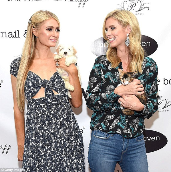 Paris and Nicky Hilton stun in the new Nicky Hilton x Tolani Passport capsule collection!