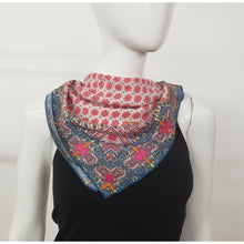 Load image into Gallery viewer, Indigo Bandana Scarf