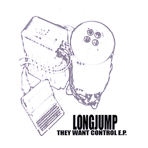 Longjump - On Your Mind E.P. - Physical CD Or CDBaby Digital Album
